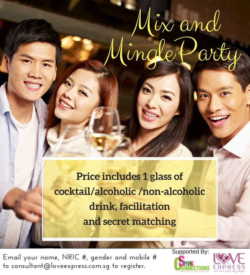 21 Apr: (DATING DEALS 50% OFF) MIX AND MINGLE PARTY @ 5 ...